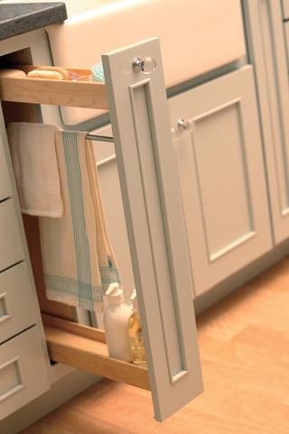 房间欧式风格一层半小别墅小清新厨房收纳架图片