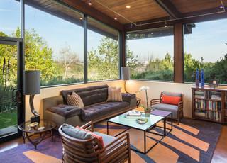 宜家风格三层别墅艺术小客厅沙发效果图