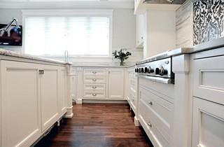 欧式风格客厅3层别墅豪华室内 6平方厨房设计图