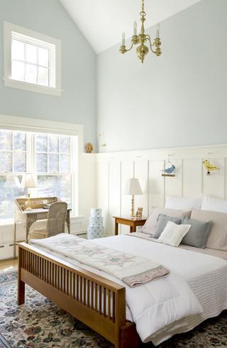 现代简约风格餐厅一层别墅唯美卧室榻榻米床图片
