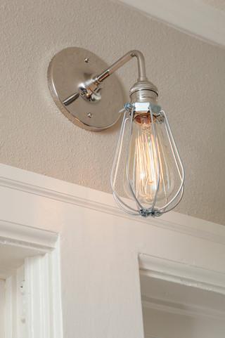 现代欧式风格300平别墅小清新壁灯效果图