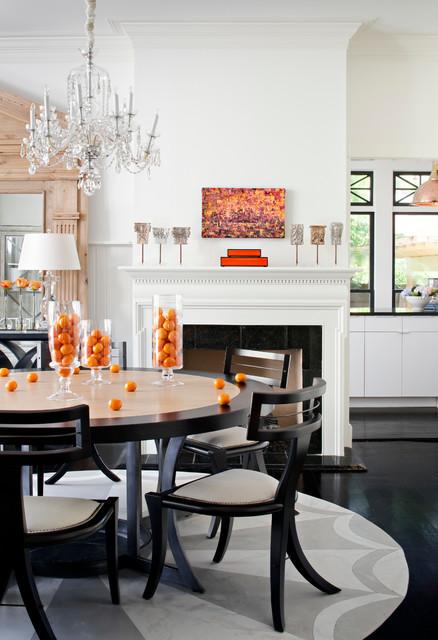 新古典风格卧室2013别墅及豪华圆形餐桌图片