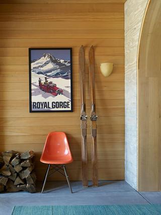 美式风格客厅一层别墅及浪漫卧室2012家装玄关效果图