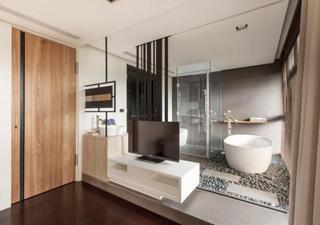 现代简约风格 台湾时尚界人士的优雅公寓