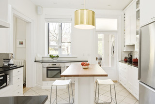 欧式风格家具2层别墅大气2013整体厨房效果图