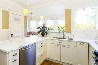 欧式风格卧室300平别墅现代简洁整体厨房效果图