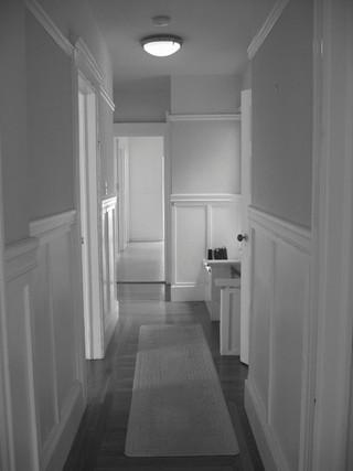 欧式风格卧室2013年别墅简洁客厅过道吊顶装修图片
