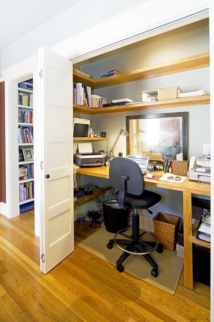 欧式风格卧室一层别墅简洁卧室书房装修效果图
