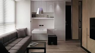 台湾微现代简约风格小户型公寓