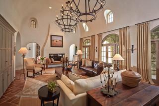欧式风格家具一层别墅及唯美2014客厅吊顶效果图