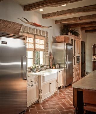 欧式风格2013年别墅唯美6平米厨房装修效果图