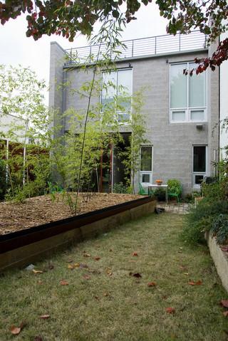 欧式风格卧室三层双拼别墅乐活楼顶花园装修