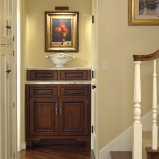 房间欧式风格酒店公寓中式古典风格室内装修楼梯效果图