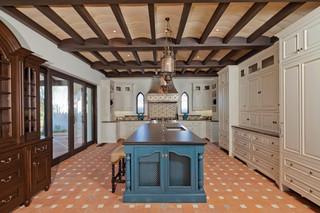 现代美式风格2013别墅及豪华房子5平方厨房装修图片