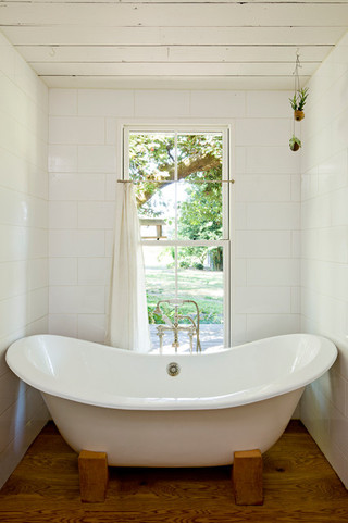 美式风格200平米别墅现代简洁卫浴用品装修效果图
