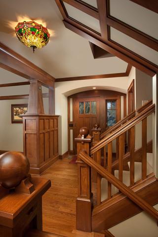 美式乡村风格卧室2013别墅及另类卧室住宅楼梯设计图设计图纸