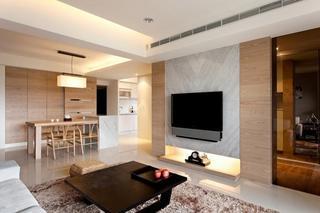 台湾温馨现代简约公寓