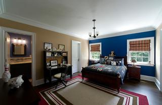 欧式风格卧室三层别墅及豪华房子10平米卧室装修效果图