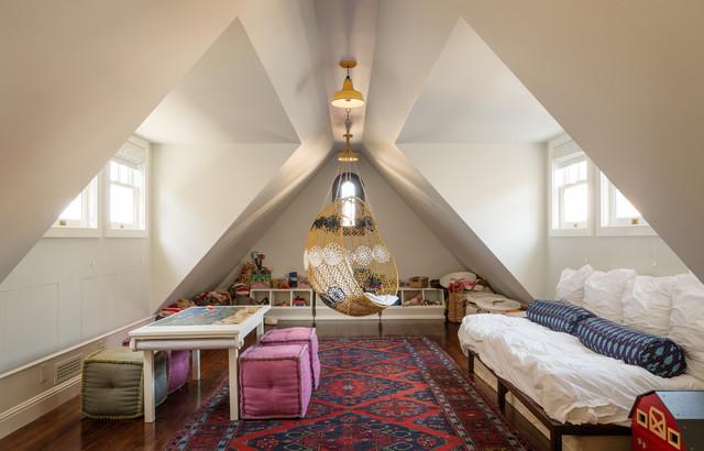 现代欧式风格复式公寓舒适三人沙发效果图