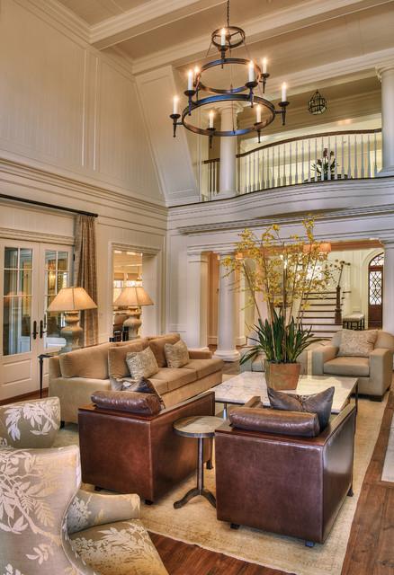 欧式风格家具三层小别墅奢华 客厅装潢