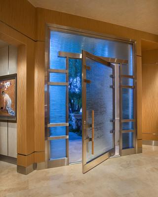 现代中式风格酒店式公寓豪华欧式客厅别墅门头图片