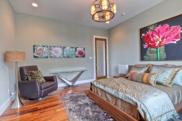 现代简约风格卧室2014年别墅另类卧室7平米卧室装潢