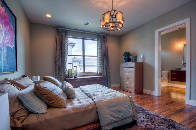 现代简约风格卫生间三层小别墅另类卧室14平米卧室设计