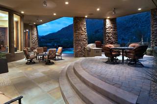 地中海风格客厅三层半别墅欧式奢华2013年客厅效果图