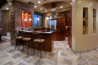 地中海风格一层半小别墅现代奢华2013厨房吊顶效果图