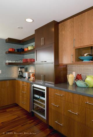现代美式风格单身公寓厨房乐活2014整体厨房设计图