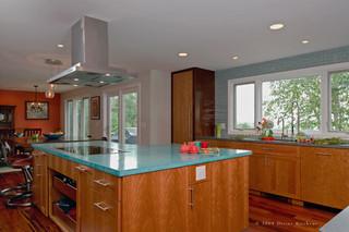 美式风格卧室单身公寓厨房乐活2013整体厨房设计图
