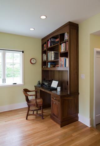 美式风格老年公寓客厅简洁中式书房装修效果图