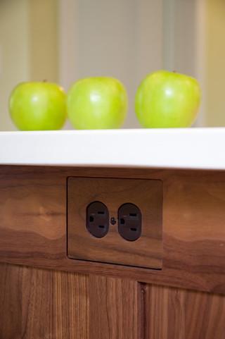 现代美式风格复式公寓客厅简洁中式酒柜效果图