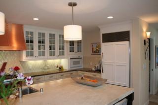现代美式风格单身公寓设计图阳台实用6平方厨房改造