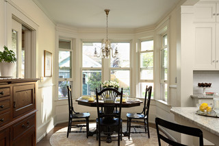现代美式风格三层别墅阳台实用厨房餐厅装修效果图