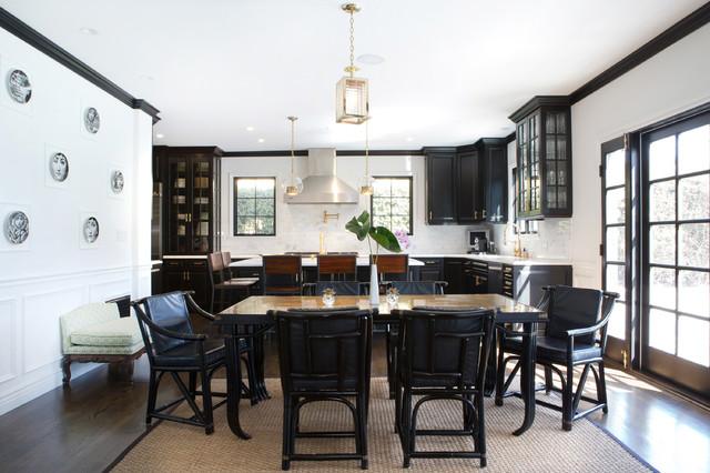 日式风格小户型公寓现代简洁地中海餐厅装修效果图高清图片