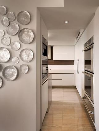 现代美式风格酒店公寓舒适6平米厨房装修效果图