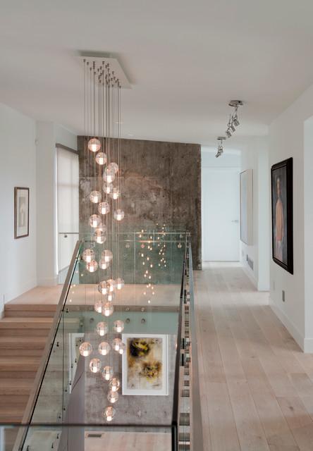 欧式风格卧室精装公寓现代简洁复式楼梯效果图图片