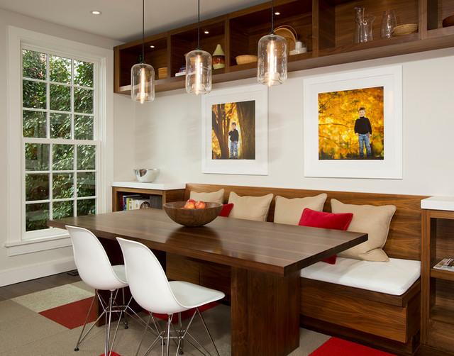 美式风格卧室小型公寓简洁实木沙发图片