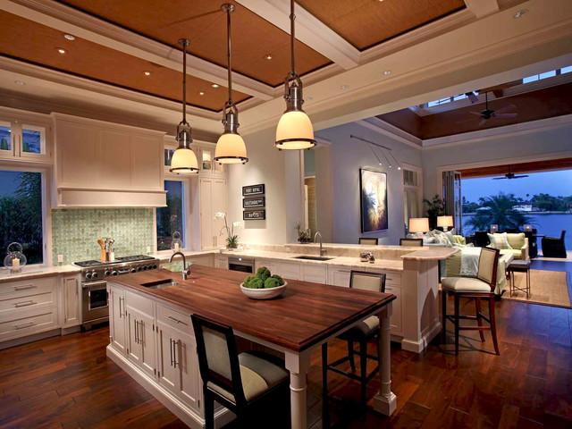 美式乡村风格卧室三层连体别墅舒适休闲餐厅装修效果图