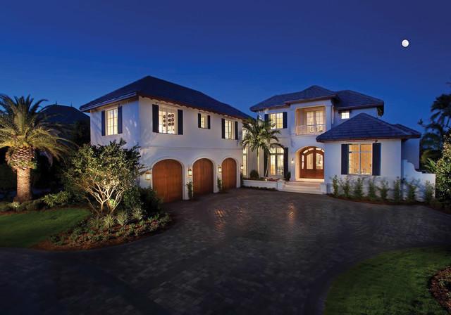 美式乡村别墅200平米别墅舒适风格装修价格表庭院楼盘青岛市新图片