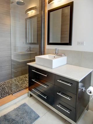 美式风格客厅单身公寓设计图艺术主卫生间装修