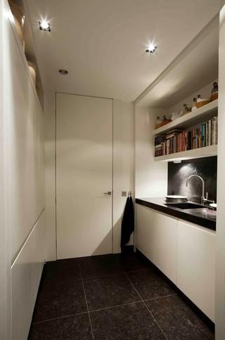 混搭风格老年公寓另类卧室卧室移门图片