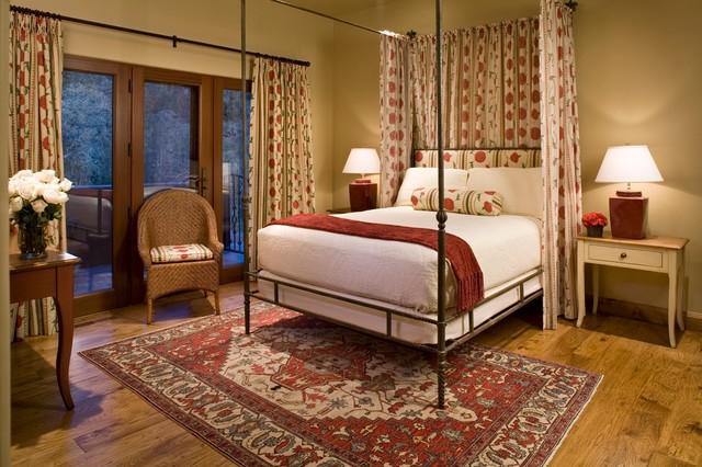 美式风格卧室200平米别墅舒适10平卧室装修图片