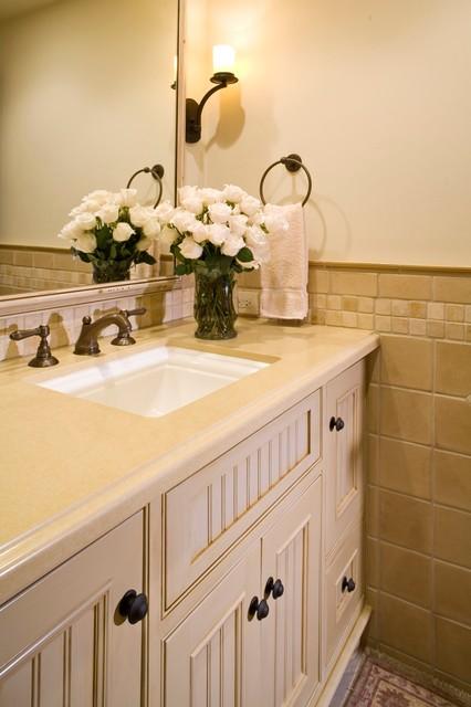美式风格2014年别墅舒适4个平米的小卫生间效果图