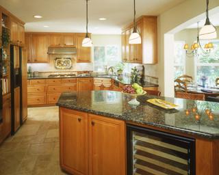 美式风格小户型公寓舒适2014厨房吊顶效果图