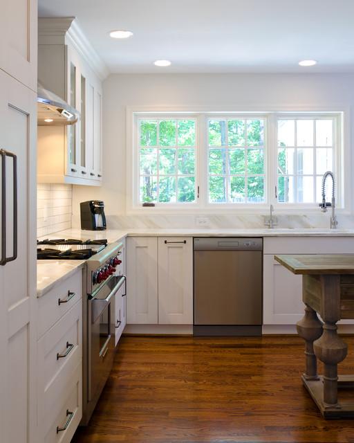 现代欧式风格单身公寓简单实用 6平方厨房设计图
