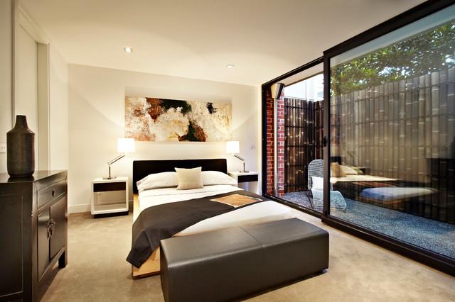 美式风格一层半小别墅低调奢华10平米小卧室装修图片
