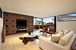 美式风格3层别墅奢华2013家装客厅改造