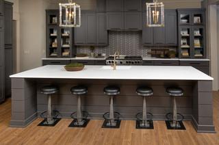 现代简约风格客厅老年公寓乐活2014整体厨房装修效果图